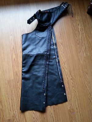 Interstate Leather Chaps (Size Large)