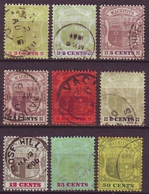 m2732/ Mauritius Compleate 1902  (CV$ 152.-)