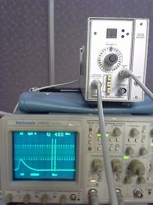 Tektronix 2465B 400MHz Oscilloscope with Probes & Front cover WORKS GREAT