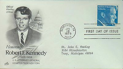 1979 - Fdc - Honoring Robert F Kennedy - Attorney General - Washington - 12 Jan