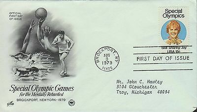 1979 - Fdc - Special Olympic Games - Special Olympics