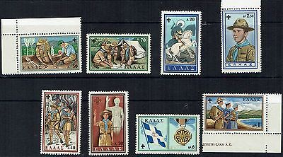Greece  Stamps 1960  50th Anniversary of Hellenic Scouting              greece6