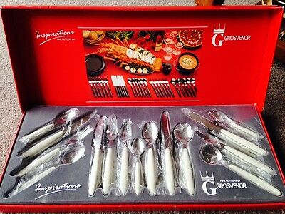 *** Grosvenor Cutlery Set for 6 ** As New In Box ***