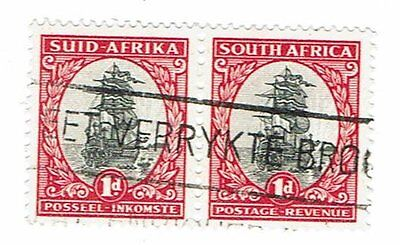 South Africa Stamps  1943  fine used pair