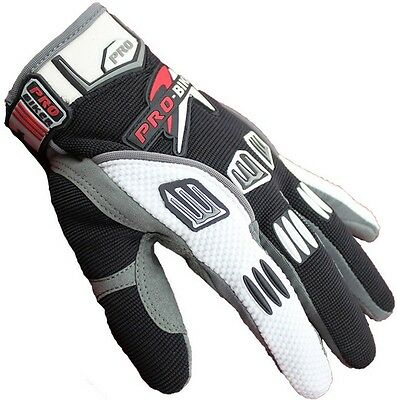 Motorcycle GLOVES motocross racing riding resistance Cycling Bicycle gloves M