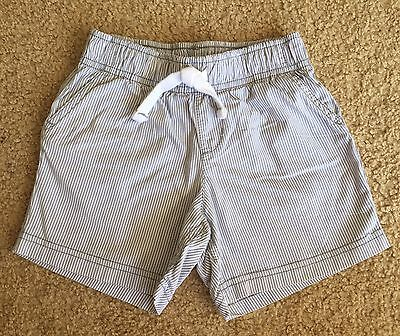 EUC! Carter's Toddler Baby Boys Girls Stripe Cotton Elastic Waist Shorts Sz 24 M