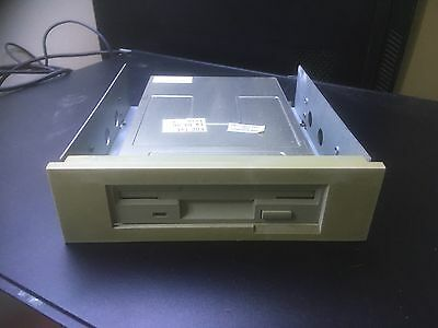"Vintage 3.5"" Floppy Drive In 5.25"" Drive Bay Adapter"