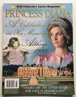 Vintage COLLECTORS MAGAZINE - PRINCESS DIANA - A CELEBRATION IN HER MEMORY -1998