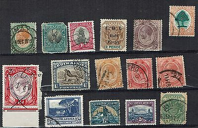 South Africa Stamps mixed used collection
