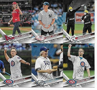 2017 Topps Series 2 Baseball FIRST PITCH Complete Insert SET of (20) Cards