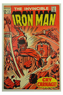 1969 Marvel Iron Man # 13 GD+ Comic Book
