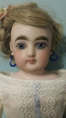 """Antique Gaultier 12"""" FG French Fashion Poupee Doll"""