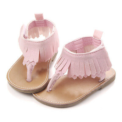 Toddler Infant Moccasin Newborn Baby Girls Soft Shoes Sole Sandals Prewalkers
