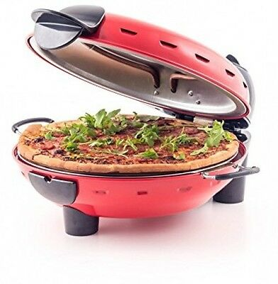 Pizza Machine Oven Electric Cooker Maker Stone Bake Toaster Home Made Party