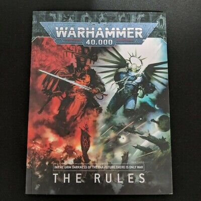 WHMS Warhammer 40k 8th edition Core Rule book new current rules Dark Imperium