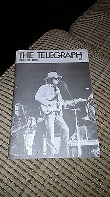 "Bob Dylan ""The Telegraph""  the Wanted Man Newsletter Issue 15 Spring 1984"
