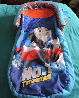 Thomas Tank Bumpered Inflatable Ready Bed