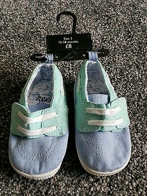 Baby Boys new shoes 12-18 UK size 3  Bnwt