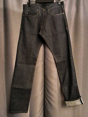 New Freenote Cloth Slim Straight Selvedge Jeans W30 Made in USA Rogue Territory