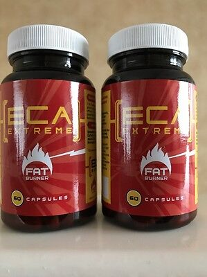 2 X Eca Extreme Fat Burners - 120 Caps - Genuine & Authorised Supplier!
