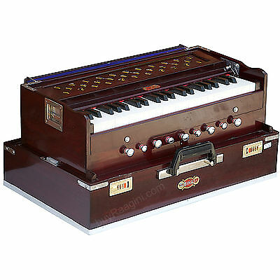 Harmonium Bina No.17|Delux Folding|Coupler Funct.|Free Shipping|42 Key|Agg-1