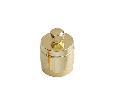 50PCS Jewelry Findings Brass Cord End Caps for 7mm leather