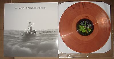 Pink Floyd The Endless Outtakes Limited Edition 100 Copies Clear coloured Vinyl