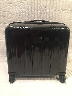 New TUMI 4-Wheel Compact Carry-On Briefcase MSRP: $425