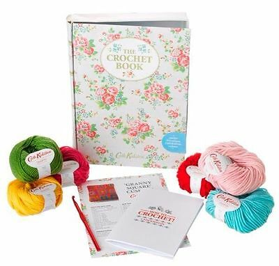 SUPER VALUE CATH KIDSTON CROCHET TIN BOOK Box with Full CONTENTS