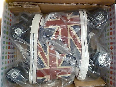 chuck classic roller boots size uk5 new in box