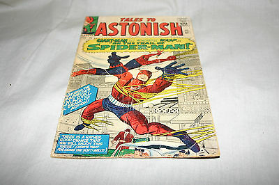 Tales to Astonish #57 Spider man Silver age comic book, Marvel 1966 Spiderman