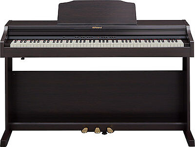 Roland RP501R-CR Digital Home Stand Up Piano - Contemporary Rosewood