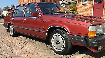Volvo 760 2.8cc v6. 1987. Mot until September 2017