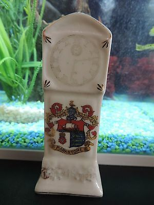 Crested China Arcadian Grandfather Clock - Parkstone