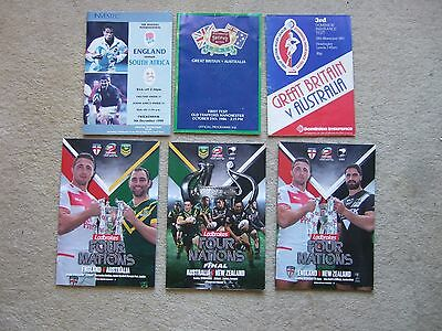 programme australia v new zealand 20/11/16 at liverpool fc 4 nations final