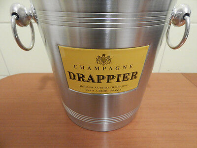 New Drappier Champagne Ice Bucket