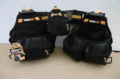 Toughbuilt 4Pce Contractor  Tool Belt Set Ct 101 4 + 12 Pencils