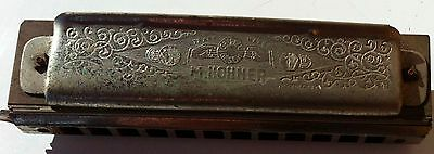 Super Harmonica M. Hohner , Made In Germany, Perfect Working Order
