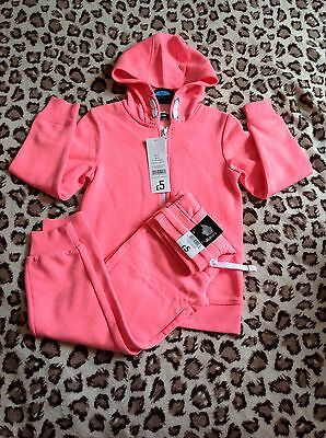 Girls Pink Tracksuit   Age 6-7. Years