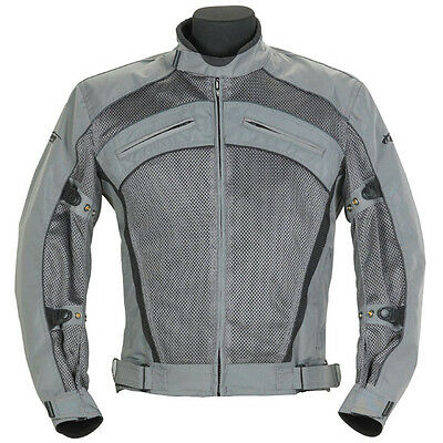 Spada Fighter Air Mesh Summer Breathable Motorcycle Vented Jacket Small