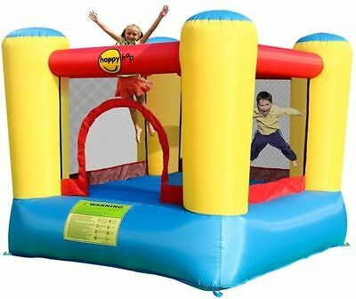 Inflatable Bouncy Castle Kids Outdoor Play Jumping Netting Safety Fun Airflow