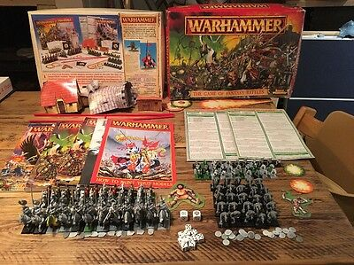 Warhammer The Game of Fantasy Battles 5th edition from 1996 * OOP *