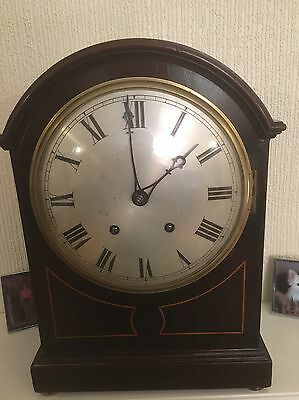 Antique W&H Ting Tang Bracket Clock Working Order