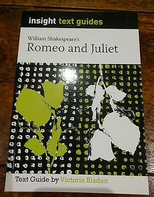 ROMEO AND JULIET ~  William Shakespeare's INSIGHT TEXT GUIDE ~ VGC!