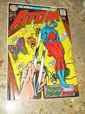 "(1968) THE ATOM #35 -- March - ""Plight of the Pin-Up Atom!"" - 6.0/FN"