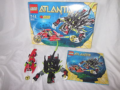 Lego Atlantis Set 8079 LIMITED EDITION Boxed with instructions