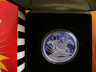 """2007 $1 Silver Proof Coin: """"Phar Lap."""""""