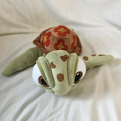 "Small 12"" Disney Store Plush Soft Toy Squirt The Turtle From Finding Nemo.  T2"