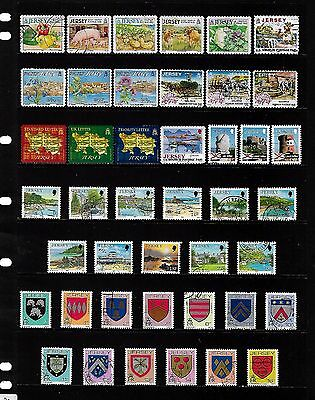 JERSEY stamp selection.(ref.757)