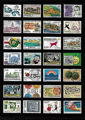 SPAIN stamp selection.(ref.807)